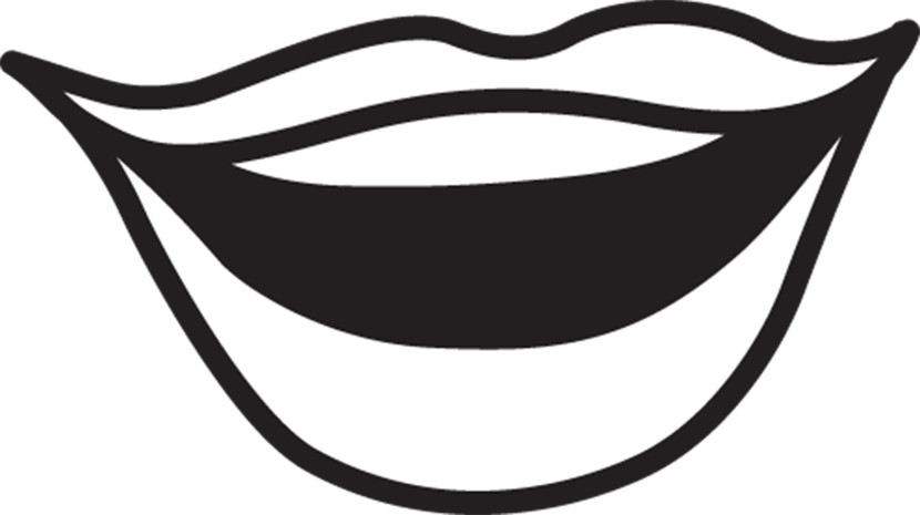 Lips black and white mouth clip art images illustrations ... clip art download