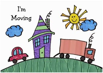 Move house clipart freeuse library Moving House Made Easy: Changing Address   Family Matters freeuse library