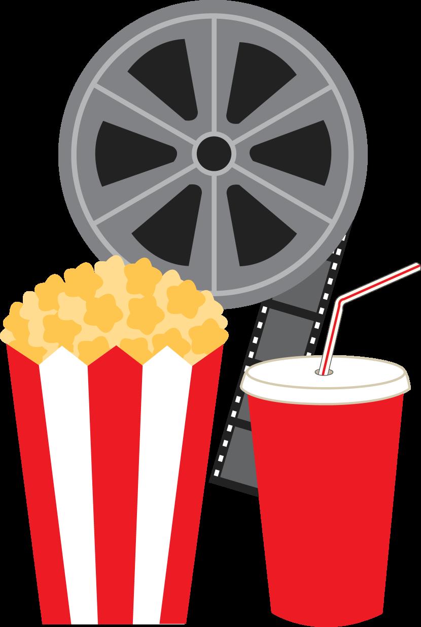 Vintage movie popcorn free clipart picture free stock Free Movie Cliparts, Download Free Clip Art, Free Clip Art ... picture free stock