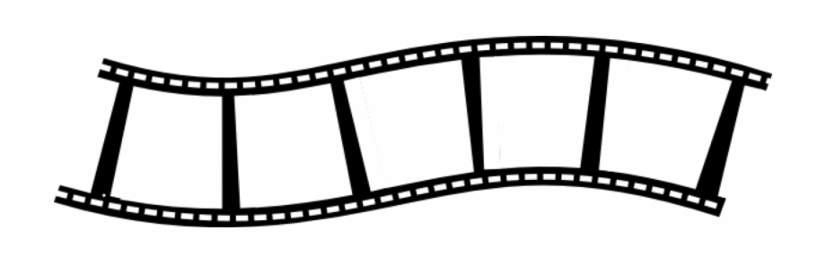 Movie clipart black and white no background jpg royalty free library Film Strip Reel Blank Black Photography Movie - Transparent ... jpg royalty free library
