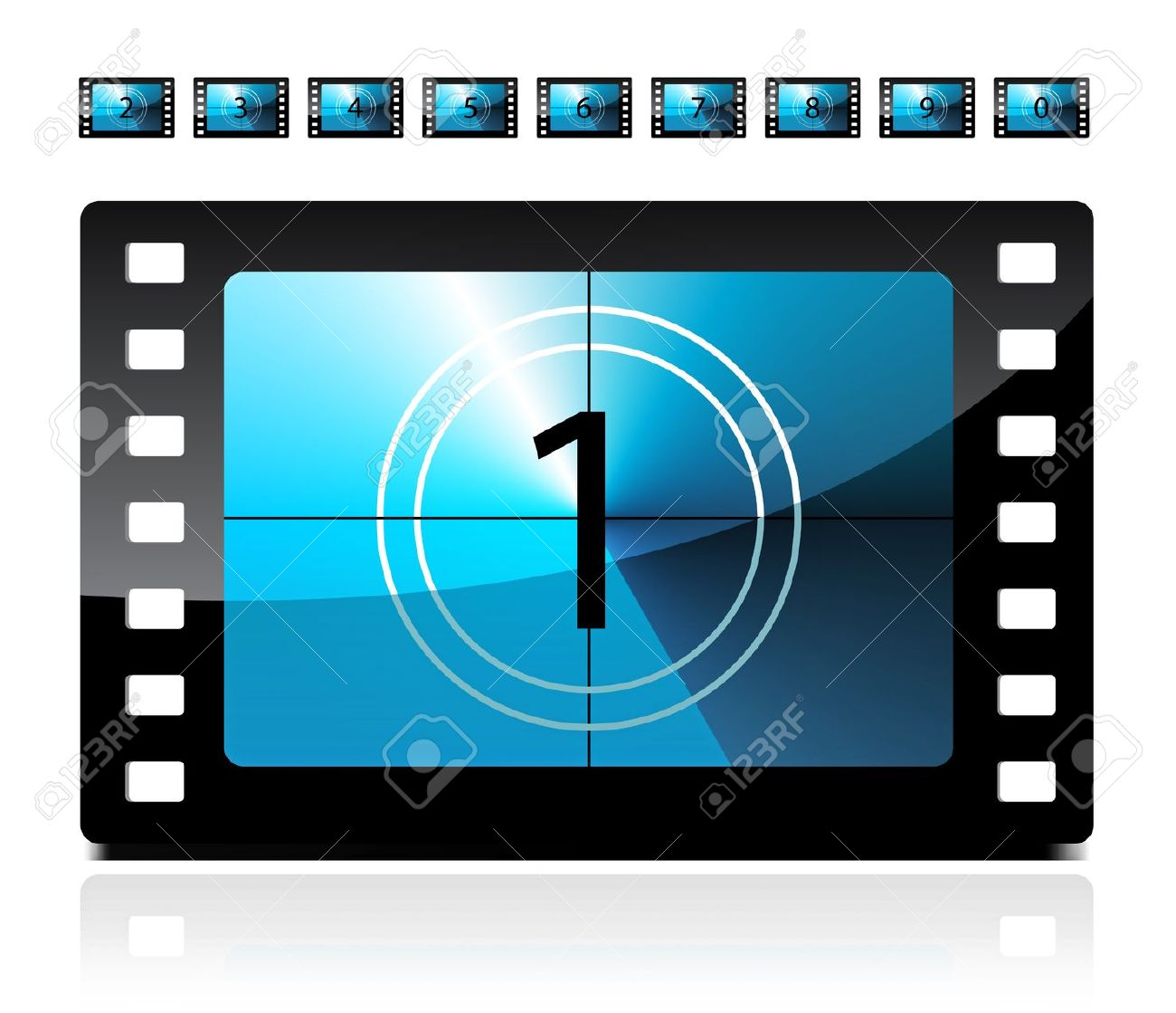 Movie countdown clip art banner free Animated countdown clipart - ClipartFest banner free