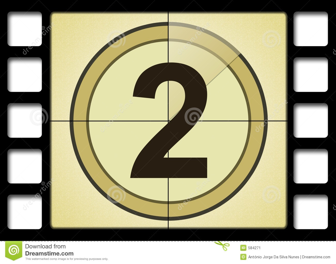Movie countdown clip art graphic black and white Film Countdown Stock Image - Image: 584271 graphic black and white