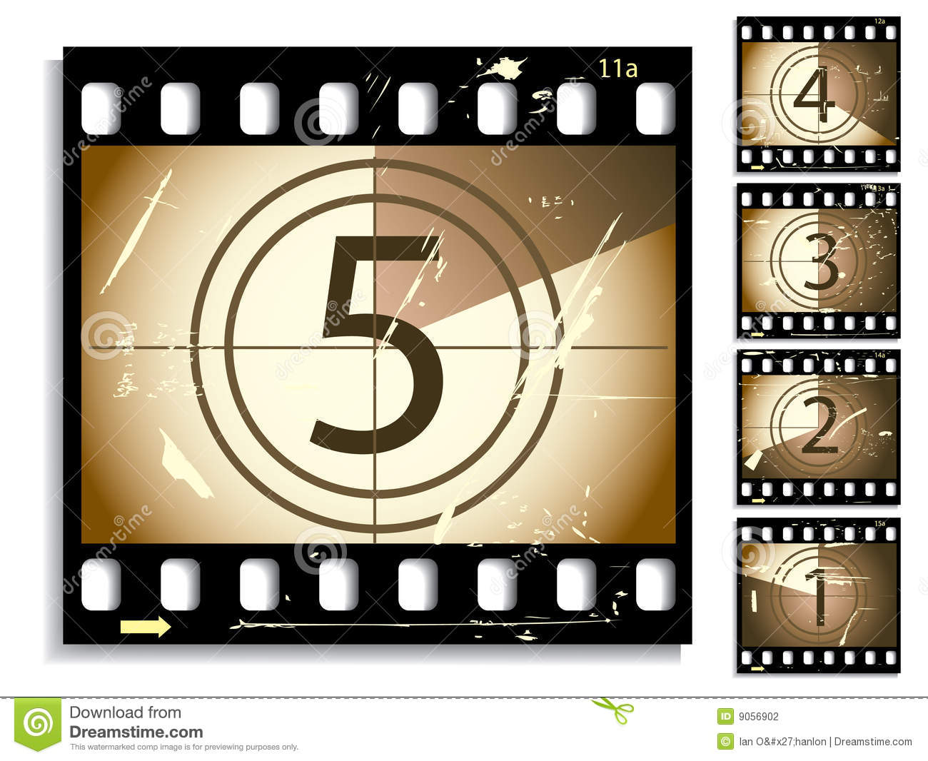 Movie countdown clip art picture library download Film Countdown Stock Photography - Image: 9056902 picture library download