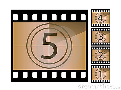 Movie countdown clip art image royalty free download Movie Countdown Royalty Free Stock Photos - Image: 5807588 image royalty free download