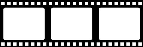 Movie film border clipart vector royalty free library Film strip border...the possibilities are endless | Craft ... vector royalty free library