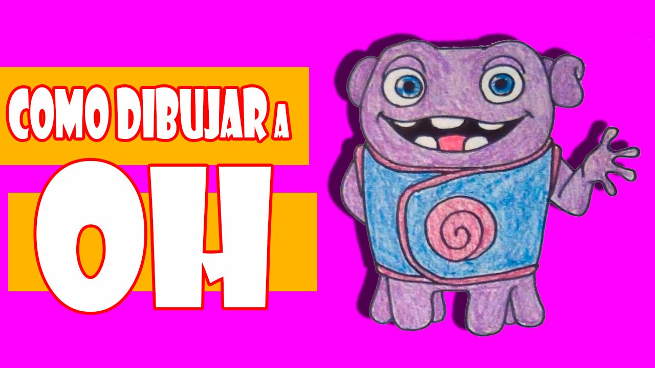 Movie home character clipart picture freeuse download Como Dibujar a Oh Home La Pelicula | How to draw Oh Home movie ... picture freeuse download
