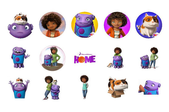 Movie home character clipart clip art black and white stock 10 Best images about HOME ! on Pinterest | Bottle cap images ... clip art black and white stock