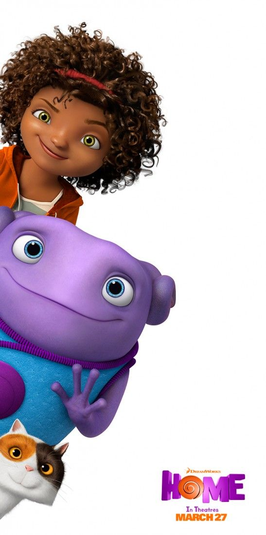 Movie home character clipart png free library Meet Oh, Tip, and Pig from the movie Home. Sponsored by DreamWorks ... png free library