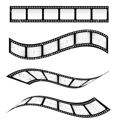 Movie in my mind clipart black and white clip art freeuse library Film reel vector | Hollywood Theme | Film reels, Film strip ... clip art freeuse library