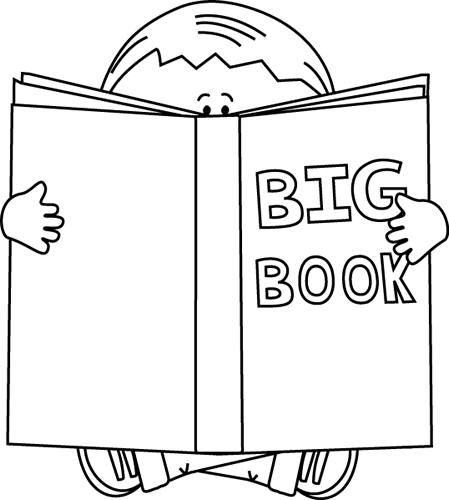 Movie in my mind clipart black and white jpg transparent download Boy Reading A Big Book Black White Book Clipart Black And ... jpg transparent download