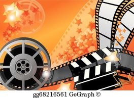 Movie poster clipart hd picture library Movie Poster Clip Art - Royalty Free - GoGraph picture library