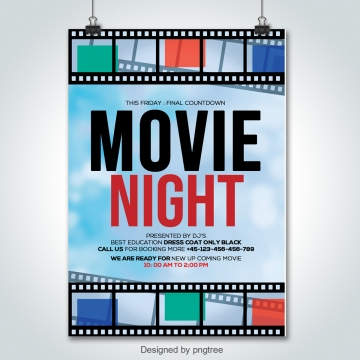 Movie Poster Png, Vector, PSD, and Clipart With Transparent ... clip royalty free stock