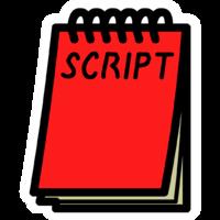 Movie script clipart image stock Movie script clipart clipart images gallery for free ... image stock