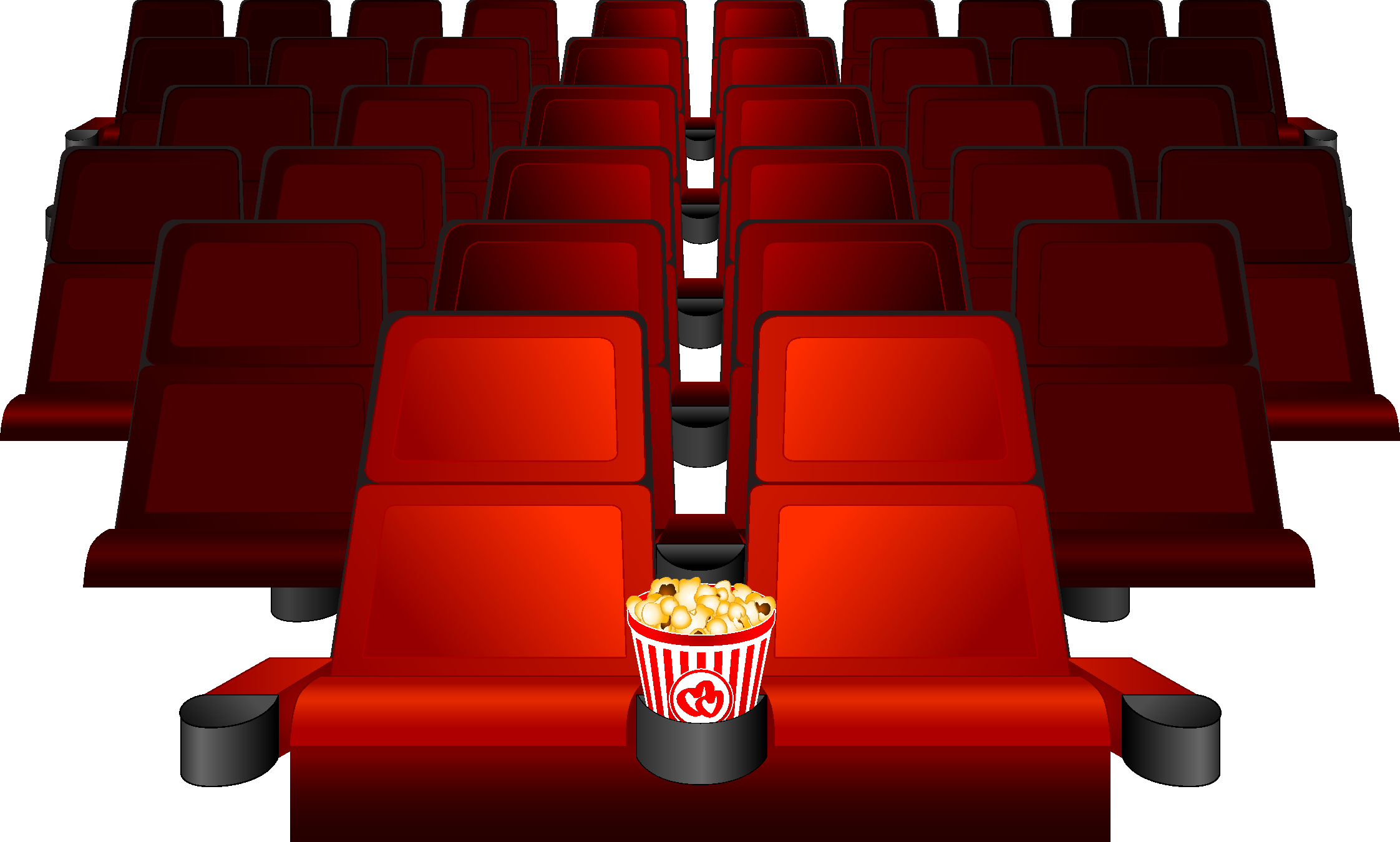 Library of movie seats picture royalty free download png ...