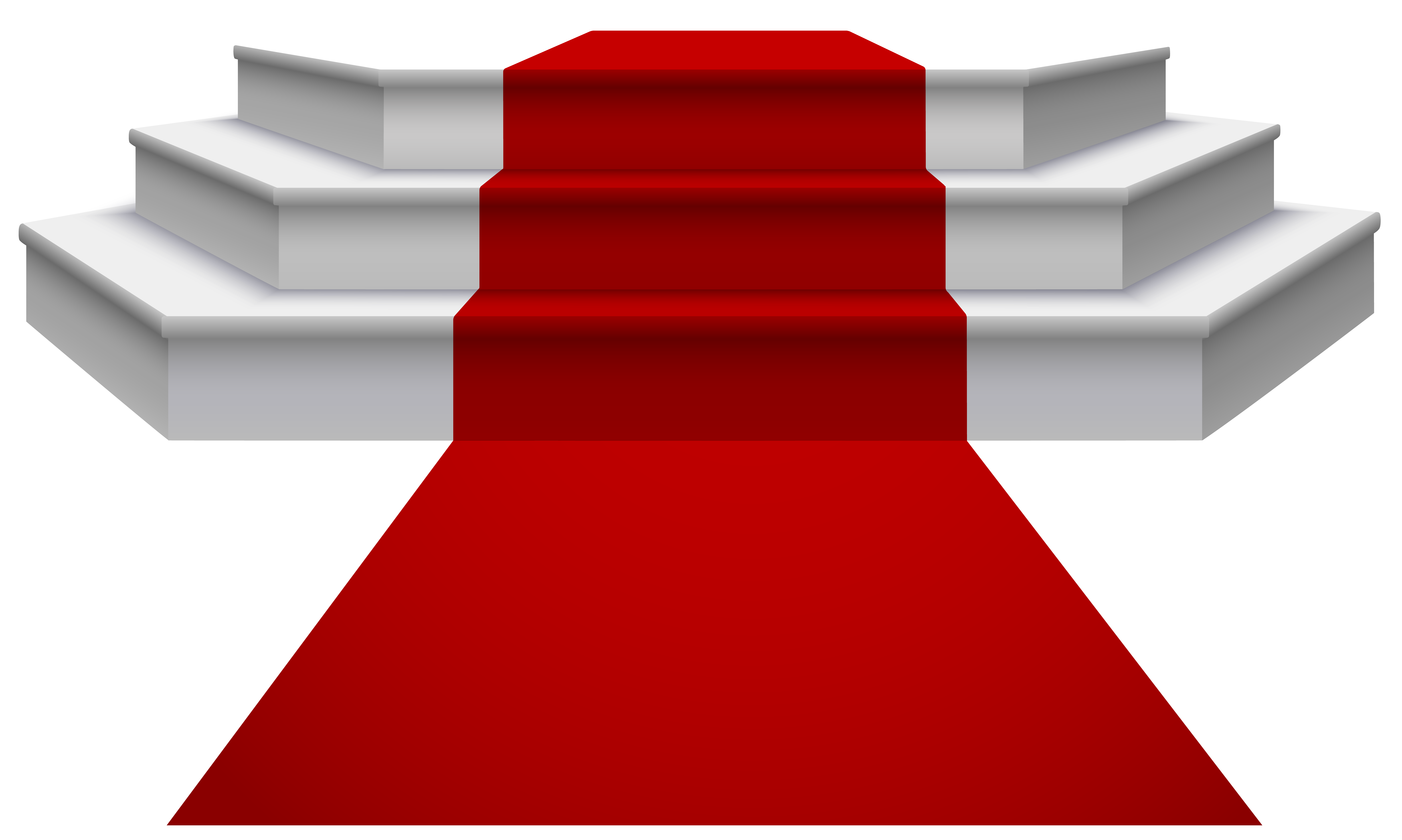 Movie star red carpet clipart picture transparent download White Podium with Red Carpet PNG Clipart Image | Gallery ... picture transparent download