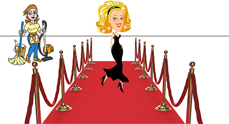 Movie star red carpet clipart png freeuse library SPEAKING – Trash Lassies – Decorating on a Budget png freeuse library