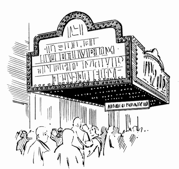 Movie theater building clipart black and white clip library Theater Building Cliparts - Cliparts Zone clip library