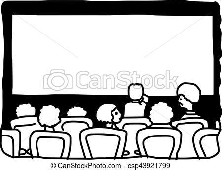 Movie theater clipart black and white clipart freeuse download Movie theatre clipart black and white 3 » Clipart Portal clipart freeuse download