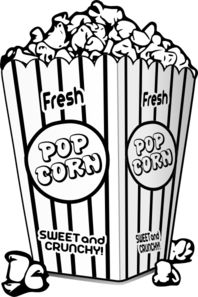 Mattnee movie theatre clipart black and white