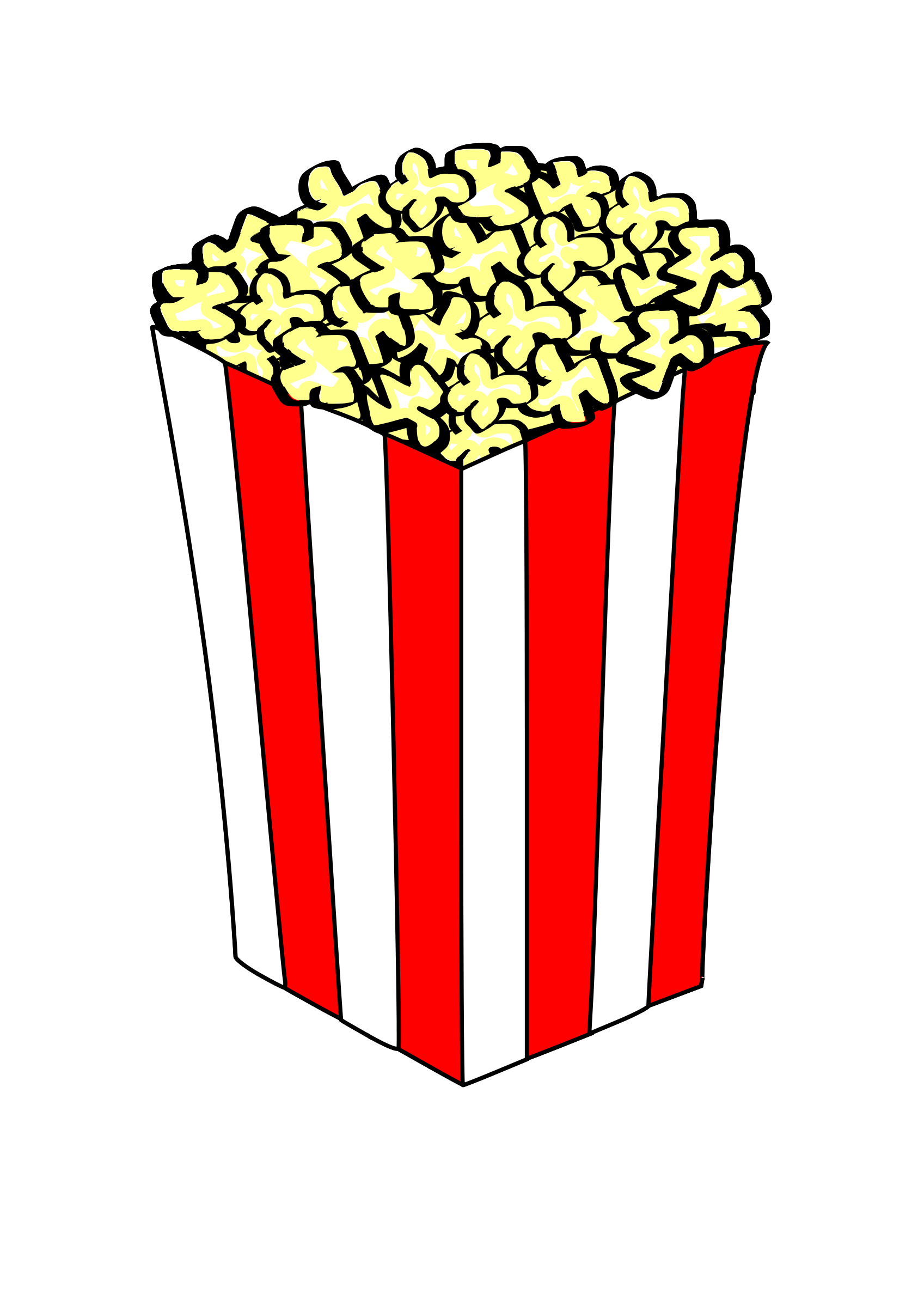 Movie theater popcorn clipart clipart images gallery for ... jpg download