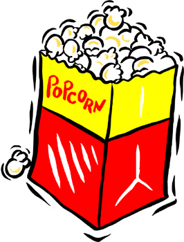 Movie Theater Popcorn Clipart | Clipart Panda - Free Clipart ... black and white stock