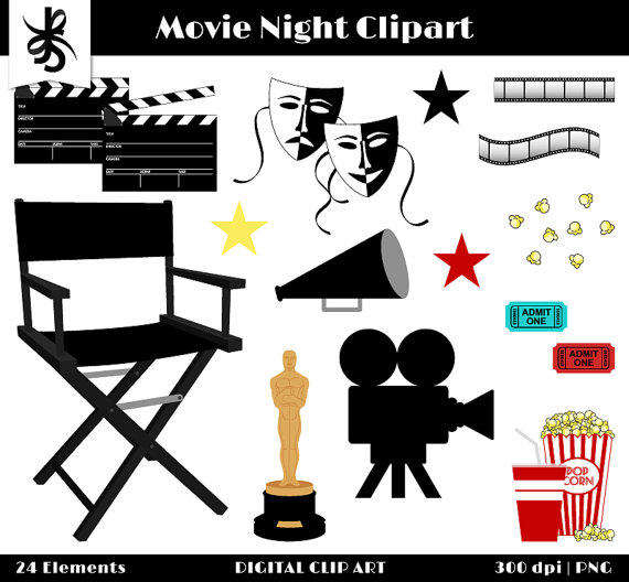 Movie theme clipart clipart freeuse library Free Movie Theme Cliparts, Download Free Clip Art, Free Clip ... clipart freeuse library