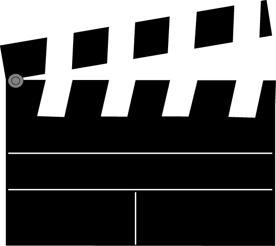 Movie theme clipart banner black and white Free Movie Theme Cliparts, Download Free Clip Art, Free Clip ... banner black and white