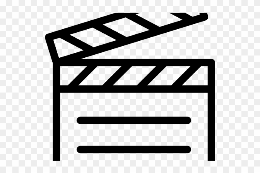 Movie themed clipart graphic royalty free library Clapperboard Clipart Movie Themed - Clapper Board Colouring ... graphic royalty free library