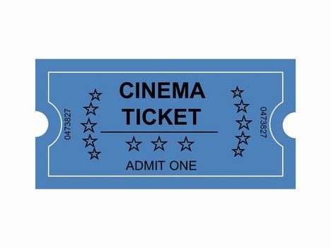 Movie ticket clipart svg royalty free download Movie Ticket Clip Art | Cinema Tickets Clip Art PowerPoint ... svg royalty free download