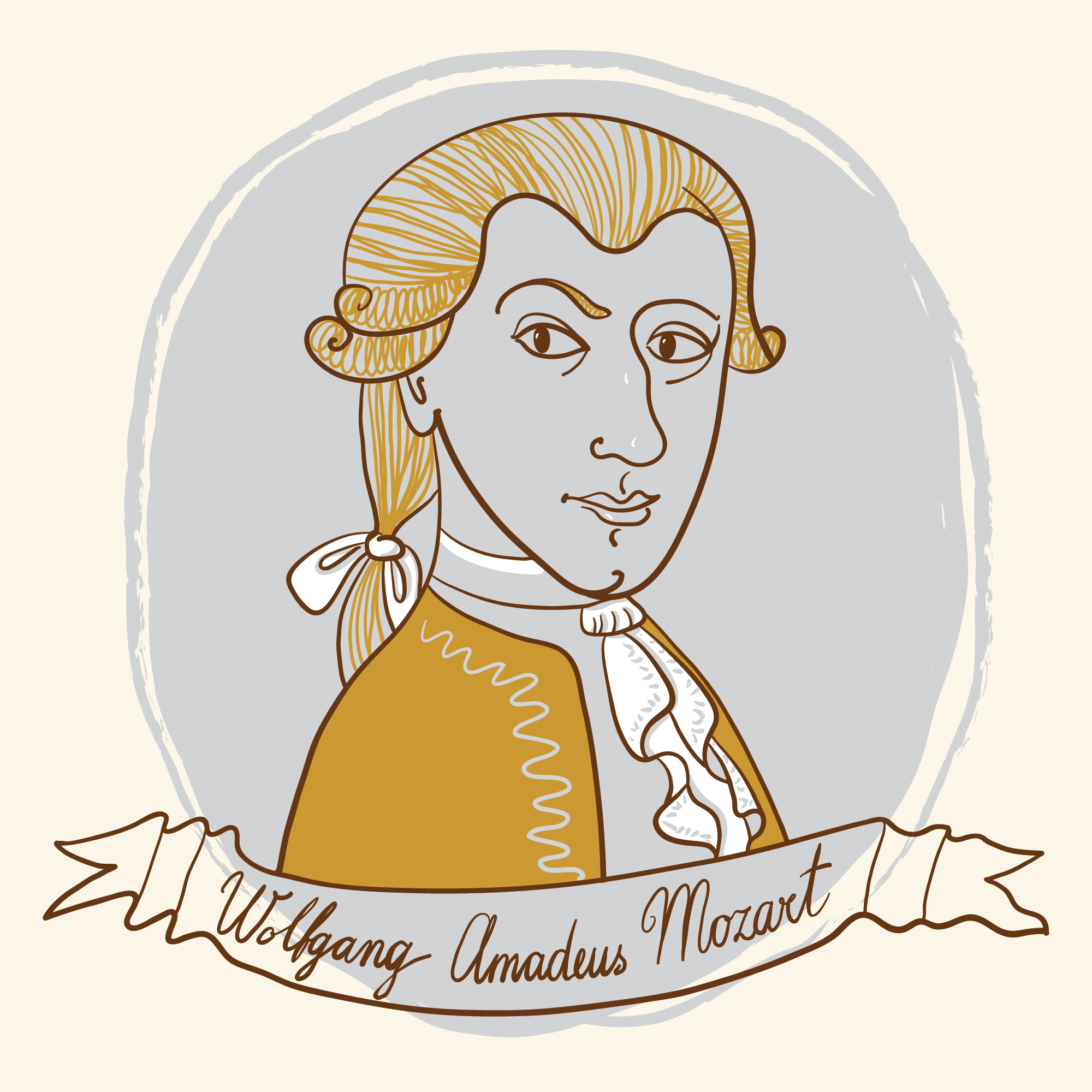 Mozard clipart clip art free stock Wolfgang Amadeus Mozart | Clipart | PBS LearningMedia clip art free stock