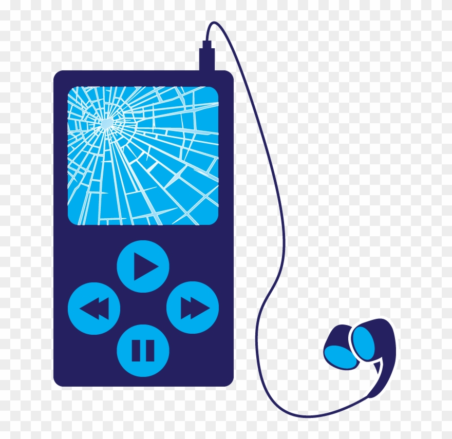 Mp3 clipart png black and white download Download Mp3 Player Clipart Mp3 Players Clip Art Blue - Mp3 Player ... png black and white download