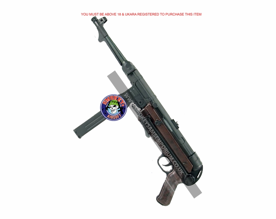 Mp40 clipart image library download This One Is For All You Wwii Enthusiasts, The German - Mp40 Free PNG ... image library download