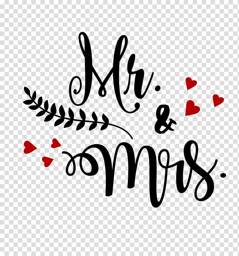 Mr and mrs clipart with heart png library Mr&Mrs text overlay, Mrs. Mr. , mrs transparent background ... png library