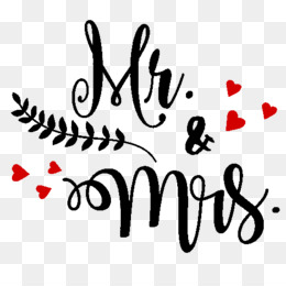 Mr and mrs clipart with heart graphic freeuse Marriage Cartoon png download - 600*468 - Free Transparent ... graphic freeuse