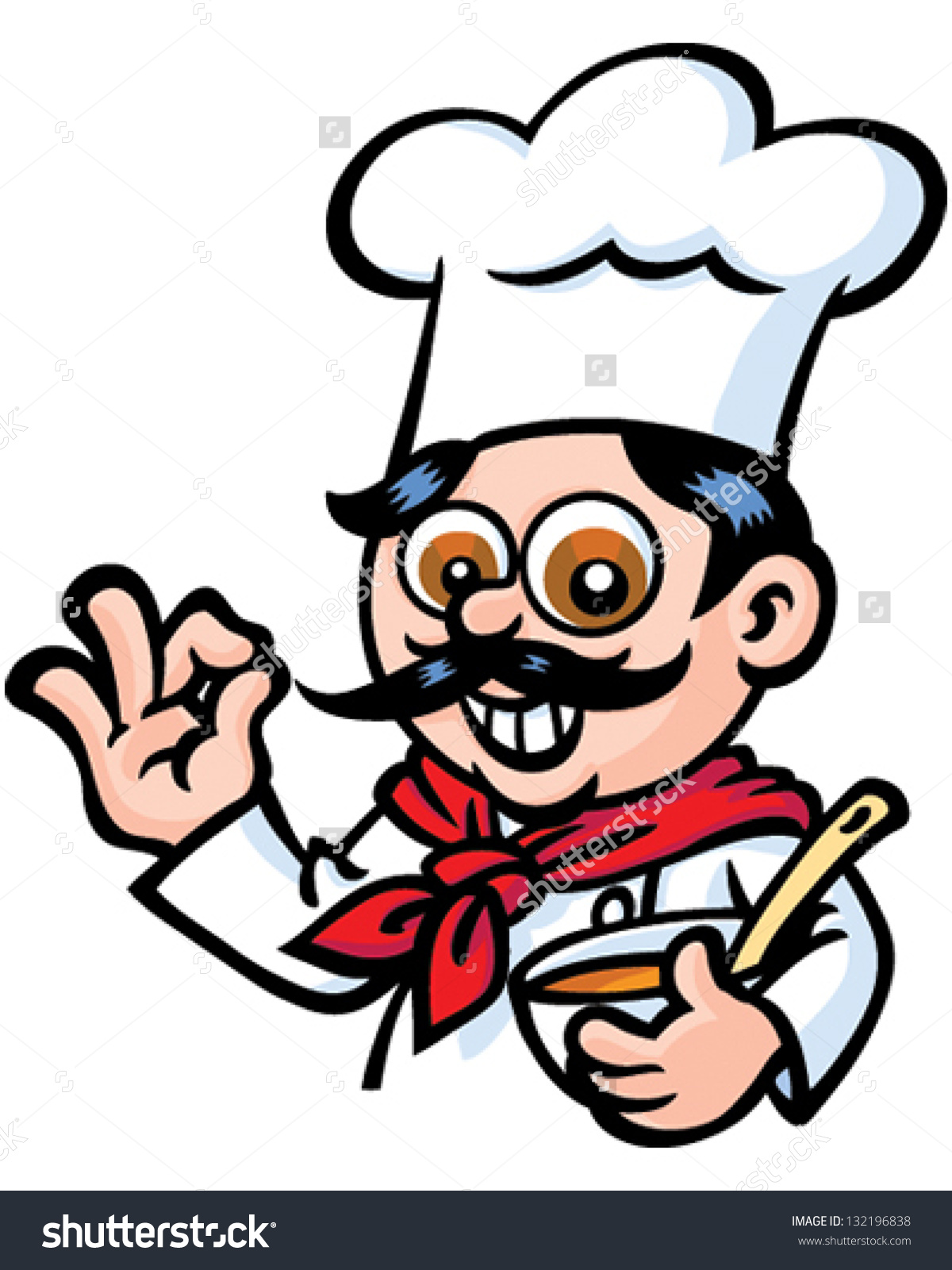 Mr chef clipart svg royalty free download Mr Chef Stock Vector 132196838 - Shutterstock svg royalty free download