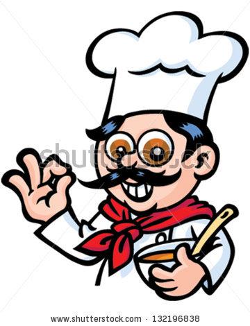 Mr chef clipart graphic Mr Chef Stock Vector 132196832 - Shutterstock graphic