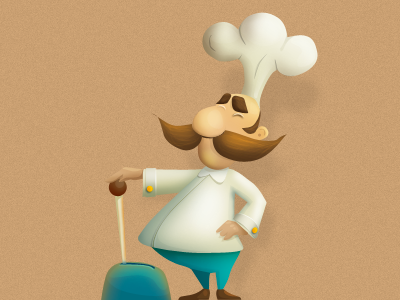 Mr chef clipart png freeuse stock Chef Artwork for Culinary Lovers and Cooks / Design Tickle png freeuse stock