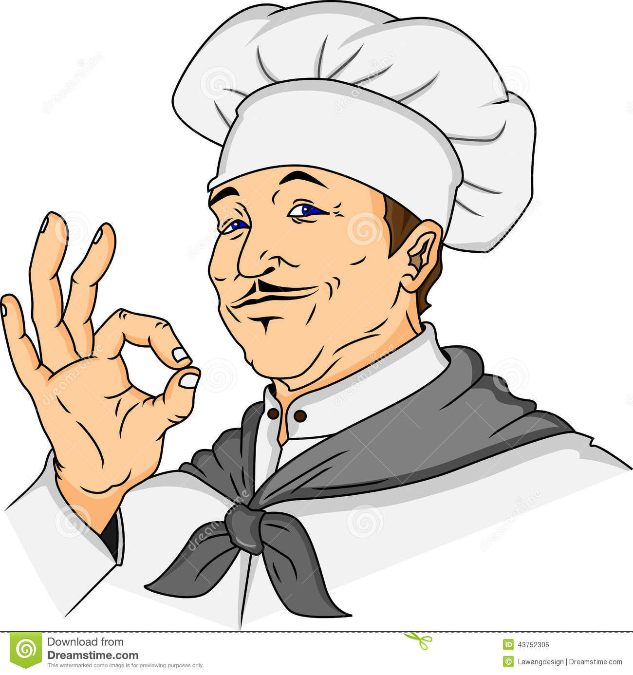 Mr chef clipart svg freeuse library Chef Stock Vector - Image: 43752306 svg freeuse library