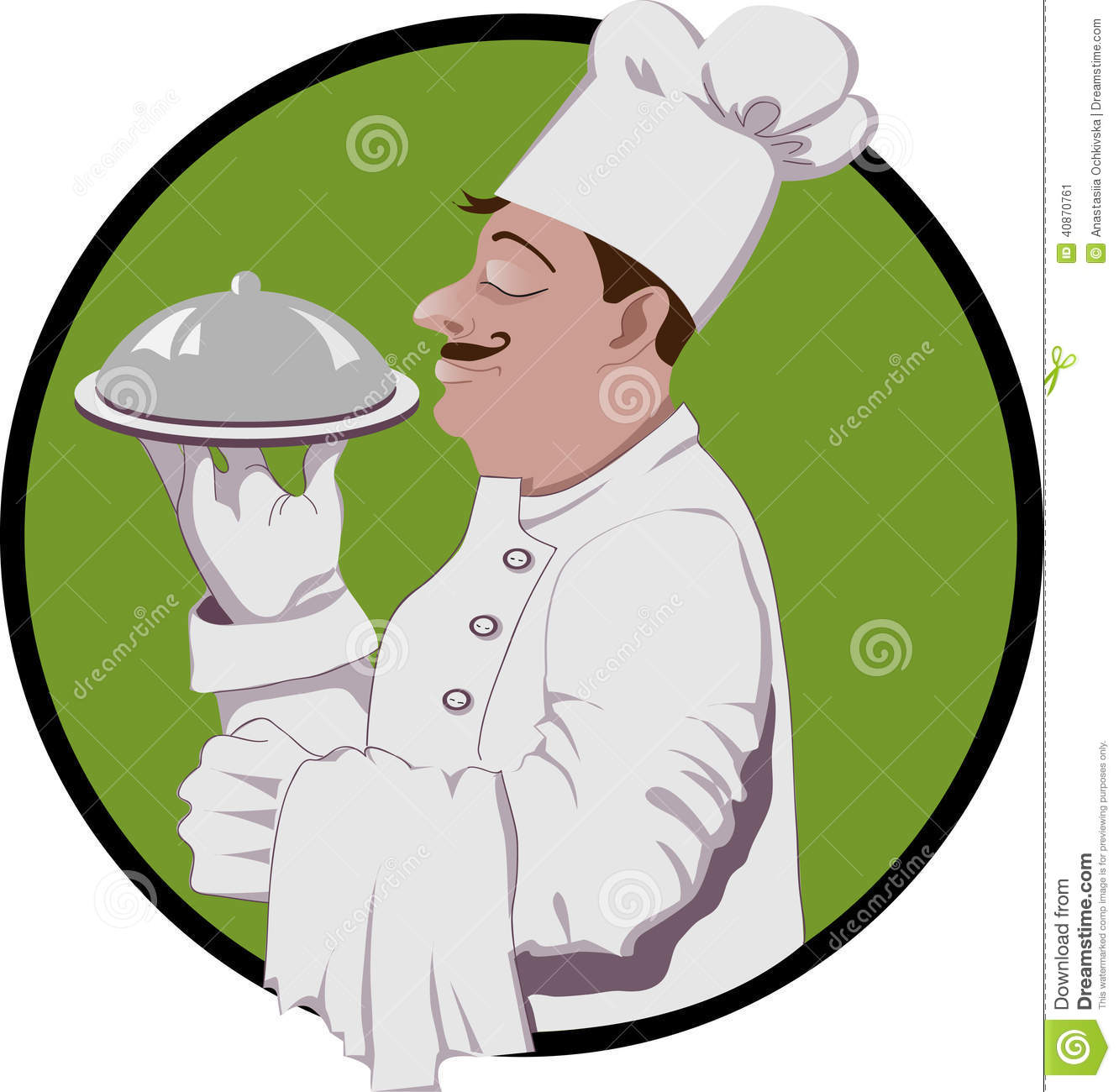 Mr chef clipart image black and white library Master Chef Logo Royalty Free Stock Images - Image: 26385339 image black and white library