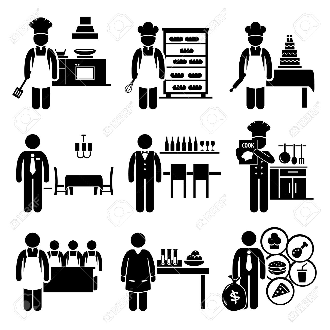 Mr chef head clipart graphic 1,611 Chef Manager Cliparts, Stock Vector And Royalty Free Chef ... graphic