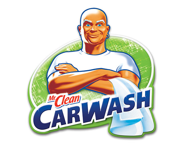 Mr clean logo clipart png free library Mr Clean Car Wash on Behance png free library
