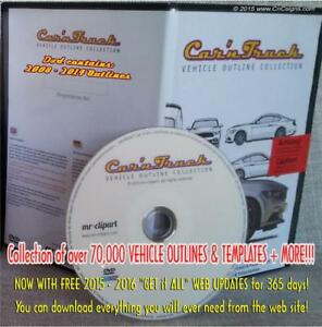 Mr clipart car n truck collection royalty free download Details about Car\'n Truck Vehicle Outlines DVD with 1yr Online update sign  design MR Clipart * royalty free download
