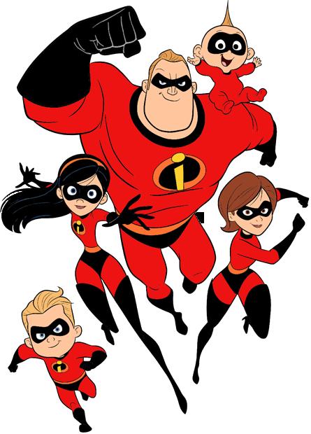 Incredibles 2 Clip Art | Disney Clip Art Galore vector stock