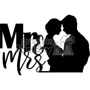 mr mrs svg cut file clipart. Royalty-free clipart # 403015 png transparent stock
