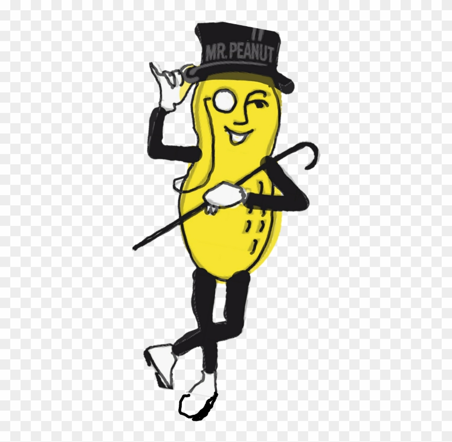 Mr peanut clipart picture Mr Peanut Transparent Clipart (#1130916) - PinClipart picture