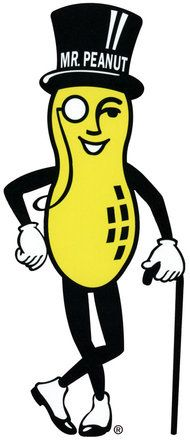 Mr peanut clipart jpg free library Planters Mr Peanut! | Brand Mascots | Planters peanuts, Peanut ... jpg free library