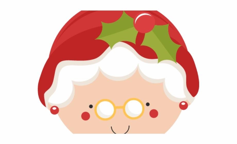 Mrs santa clipart jpg library Mrs Claus Face Clipart Free PNG Images & Clipart Download ... jpg library