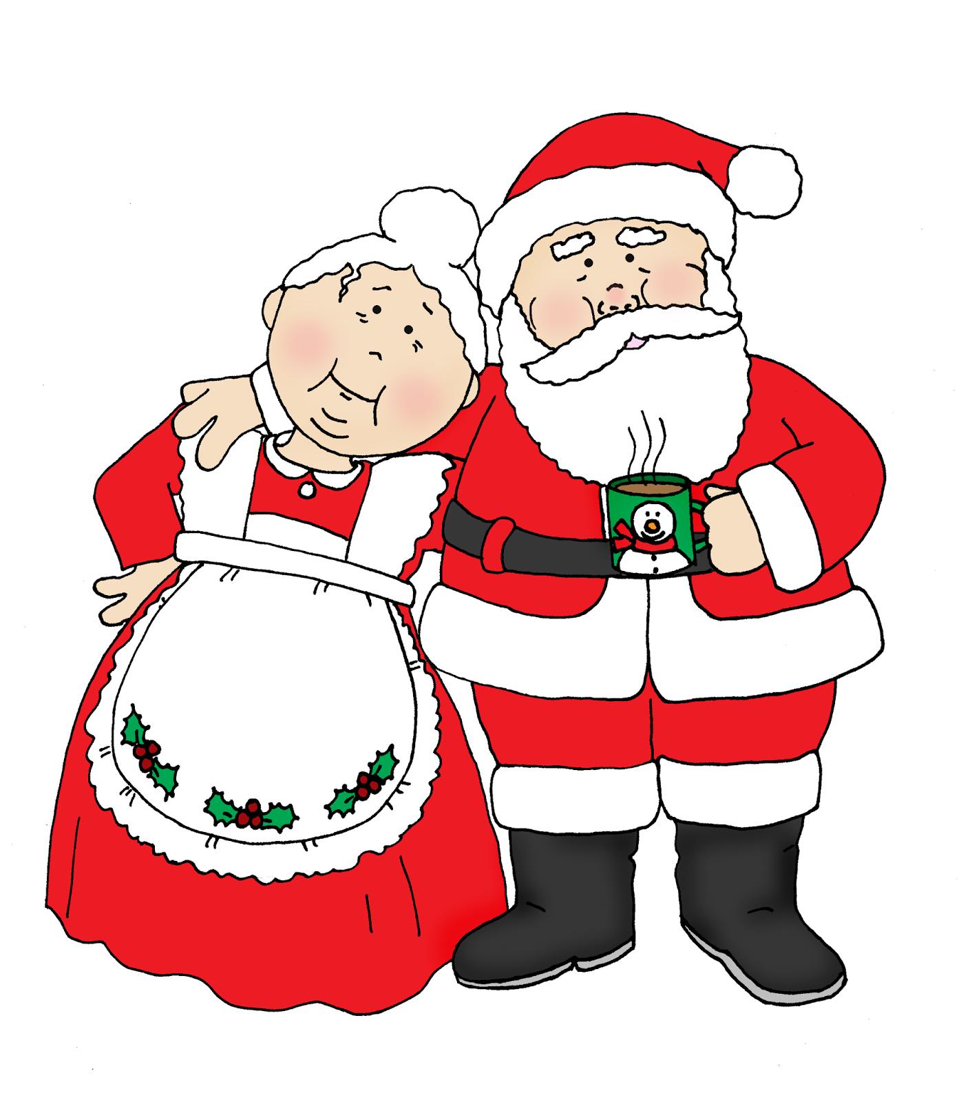 Mrs santa clipart image transparent stock Santa And Mrs Claus PNG Transparent Santa And Mrs Claus.PNG ... image transparent stock