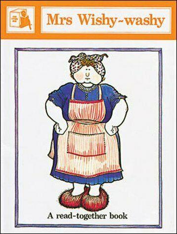 Mrs wishy washy clipart clip royalty free Mrs. Wishy-Washy by Joy Cowley (1986, Cassette) clip royalty free
