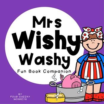 Mrs wishy washy clipart jpg royalty free Mrs Wishy Washy | Book Companion Activities jpg royalty free